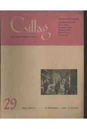 Csillag 29. 1950 április IV. évfolyam - Régikönyvek