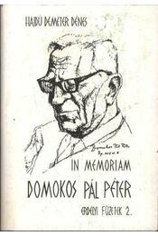 In memoriam Domokos Pál Péter - Régikönyvek