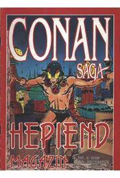 Conan Saga II. évfolyam 6. szám 1990. december - Régikönyvek