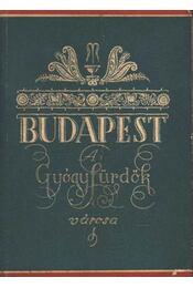 Budapest A gyógyfürdők városa - Régikönyvek