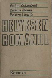 Helyesen románul - Régikönyvek