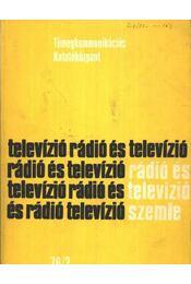 Rádió és televízió szemle 76/2 - Régikönyvek