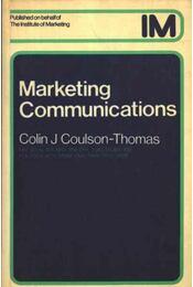 Marketing Communications - Régikönyvek