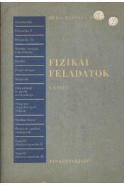 Fizikai feladatok I. - Régikönyvek
