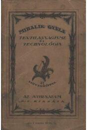 Textilanyagisme és technológia - Régikönyvek