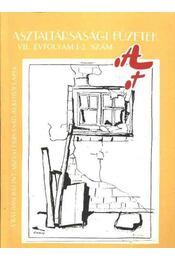 Asztaltársasági füzetek VII évfolyam 1-2 szám - Régikönyvek