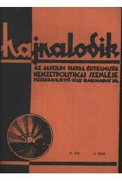 Hajnalodik - IV. évf. 3. - Régikönyvek