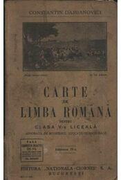 Carte de Limba Románá - Régikönyvek