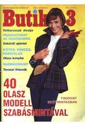 Butik 1992/3. - Régikönyvek