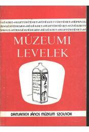 Múzeumi levelek 71-72. sz. - Régikönyvek