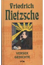 Versek - Gedichte - Régikönyvek