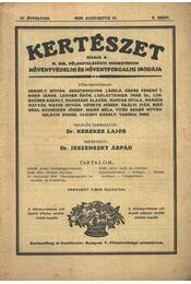 Kertészet 1930. augusztus 8. szám - Régikönyvek