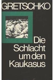 Die Schlach um den Kaukasus - Régikönyvek