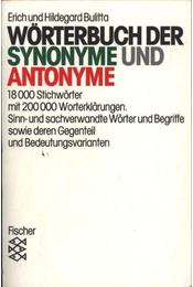 Wörterbuch der synonyme und antonyme - Régikönyvek
