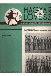 Magyar Lövész 1942/8. szám - Régikönyvek