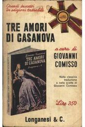 Tre amori di Casanova - Régikönyvek