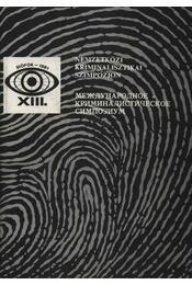 Nemzetközi kriminalisztikai szimpozion - Régikönyvek