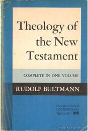 Theology of the New Testament (angol-nyelvű) - Régikönyvek