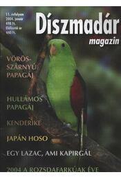 Díszmadár magazin 2004. év - Régikönyvek