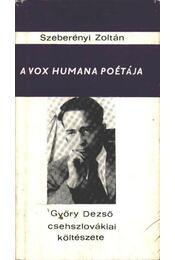 A vox humana poétája - Régikönyvek
