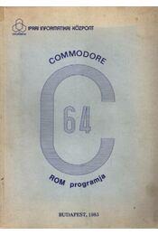 Commodore C-64 ROM programja - Régikönyvek