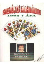 Szeszélyes kalendárium 1992 - Régikönyvek