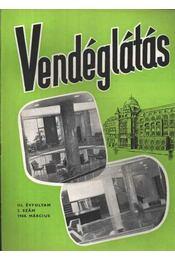 Vendéglátás III. évfolyam 1960. március - Régikönyvek