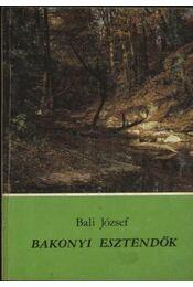 Bakonyi esztendők - Régikönyvek
