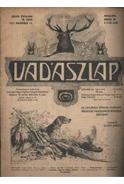 Vadászlap 1917. november 15. - Régikönyvek
