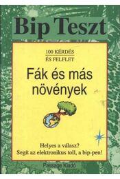 Fák és más növények - Régikönyvek