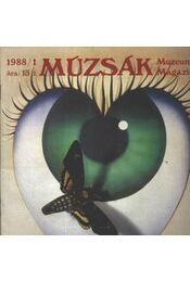 Múzsák Múzeumi Magazin 1988. évf. (teljes) - Régikönyvek