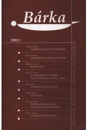 Bárka 2002/1 - Régikönyvek