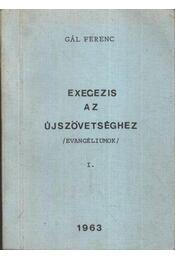 Exegezis az újszövetséghez - Régikönyvek