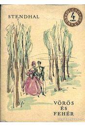 Vörös és fehér I-III. kötet - Régikönyvek