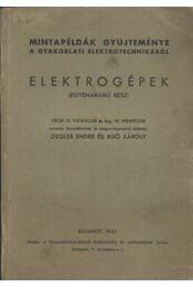 Elektrogépek - Régikönyvek