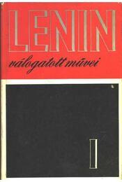 Lenin válogatott művei I-III. kötet - Régikönyvek