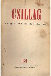 Csillag 34. 1950. szeptember- III. évfolyam - Régikönyvek