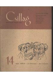 Csillag 14. 1949 január III. évfolyam - Régikönyvek