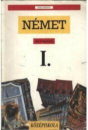 Német I. a gimnázium I. osztálya számára - Régikönyvek