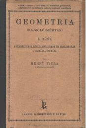 Geometria I. rész - Régikönyvek