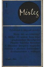 Mérleg 1970/1 - Régikönyvek