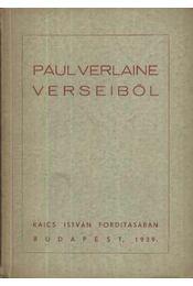 Paul Verlaine verseiből - Régikönyvek
