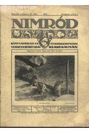 Nimród 1914. július 1. - Régikönyvek