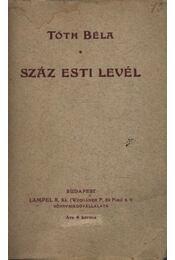 Száz esti levél - Régikönyvek