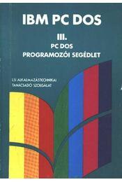 IBM PC Dos III. - Régikönyvek