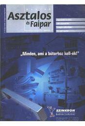 Magyar Asztalos és Faipar 2002/6. - Régikönyvek