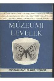 Múzeumi levelek 69-70. sz. - Régikönyvek