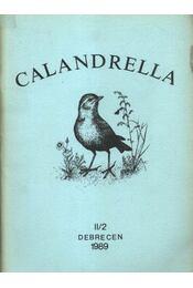 Calandrella II/2. - Régikönyvek