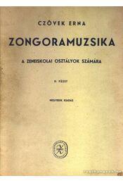 Zongoramuzsika II. füzet - Régikönyvek
