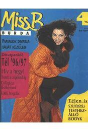 Miss B Burda 96/4 tél - Régikönyvek